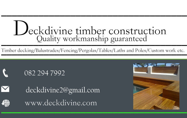 Deckdivine Timber Construction Raymond