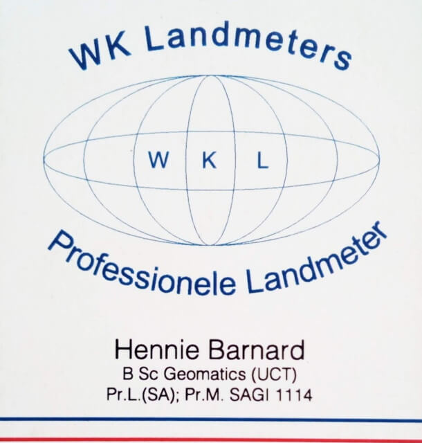 WK Land Surveyors WK Landmeters 640